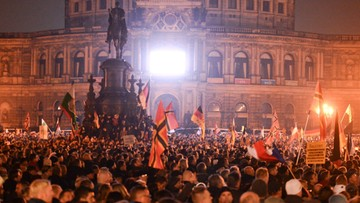 20-10-2015 04:28 Zamieszki podczas antyimigranckich demonstracji w Dreźnie