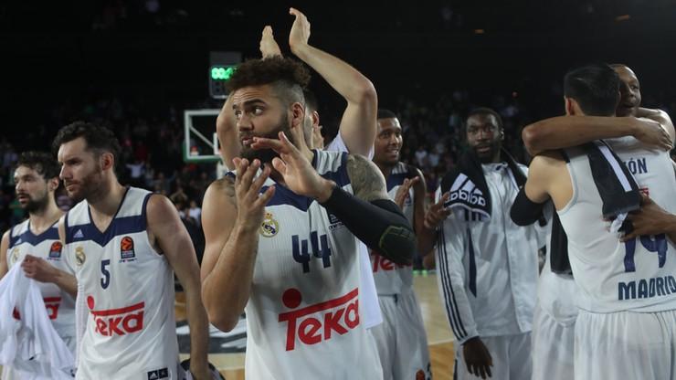 Euroliga: Real Madryt trzecim finalistą turnieju w Stambule