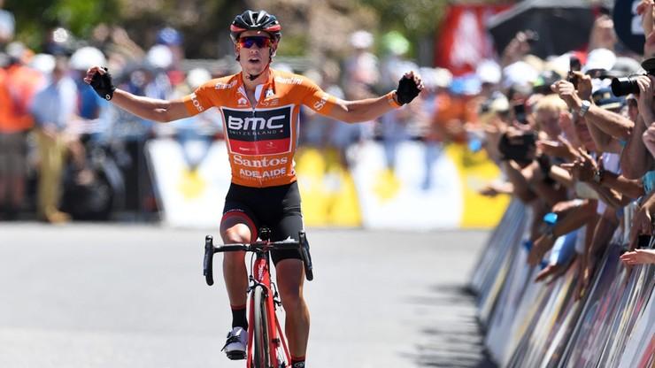 Tour Down Under: Porte wygrał etap i umocnił się na prowadzeniu