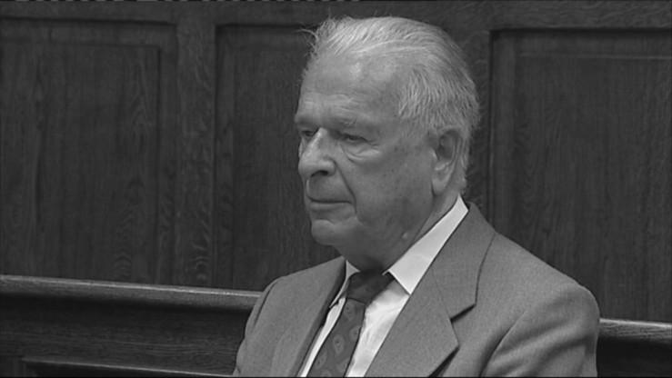 Nie żyje Czesław Kiszczak. Miał 90 lat.