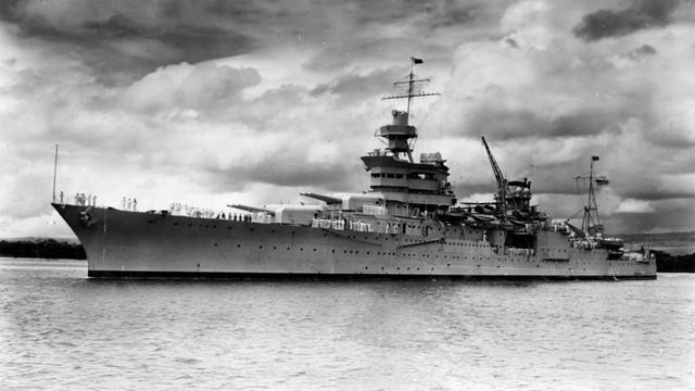 Wrak słynnego okrętu odnaleziony. USS Indianapolis przewiózł elementy bomby zrzuconej na Hiroszimę