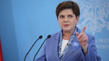 Premier Beata Szydło odwołała ministra skarbu