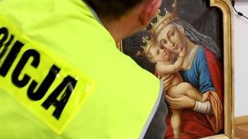 22-02-2017 15:44 XVIII-wieczny obraz skradziono 25 lat temu. Znaleziono go w prywatnym mieszkaniu