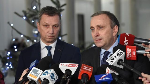 Schetyna: Polska z prymusa stała się problemem dla Europy