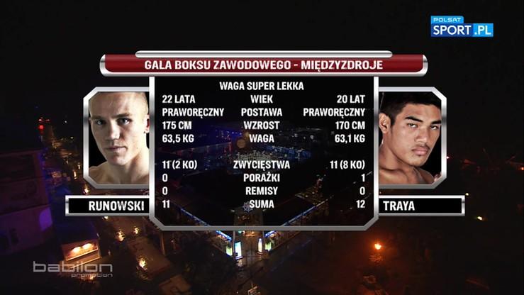 2016-08-20 Przemysław Runowski - Elmo Traya. Skrót walki