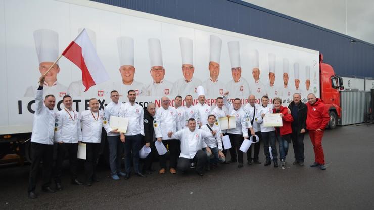 Praliny zapewniły polskim kucharzom srebrny medal na olimpiadzie w Erfurcie