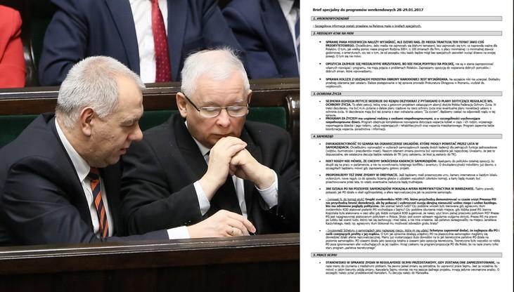 """""""Poseł Nitras, sejmowy celebryta"""". Wyciekła partyjna instrukcja dla posłów PiS wypowiadających się w mediach"""