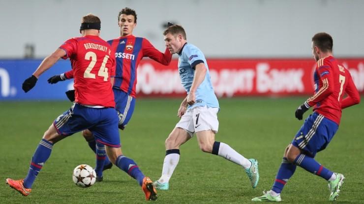 Manchester City zremisował wygrany mecz. CSKA Moskwa wyszarpał punkt