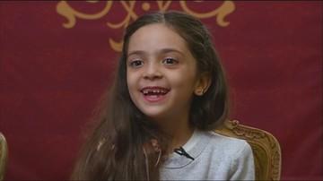 Ośmiolatka z Aleppo gwiazdą internetu
