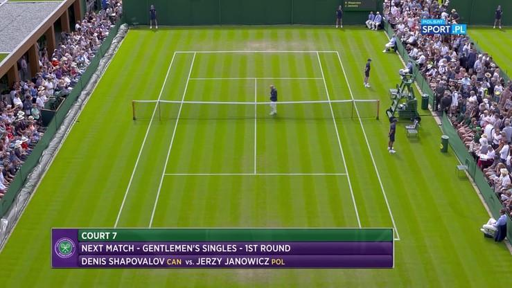 Janowicz - Shapovalov 3:1. Skrót meczu