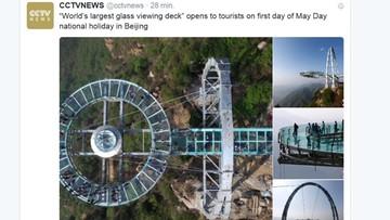 30-04-2016 17:47 Chiny mają największy taras widokowy ze szkła