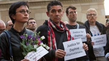 """22-10-2017 22:18 """"Dziennikarze nie dadzą się uciszyć"""". Manifestacja po śmierci maltańskiej dziennikarki śledczej"""