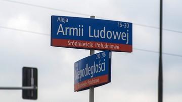 """""""Lech Kaczyński nie zasłużył sobie na to, żeby poprzez taką hucpę, nadawać mu nazwę ulicy"""""""
