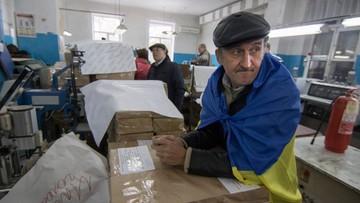 25-10-2015 19:50 Wybory samorządowe na Ukrainie: w Kijowie zwyciężył Blok Poroszenki Solidarność