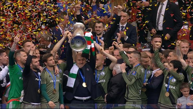 Puchar Polski dla Legii! Wręczenie trofeum
