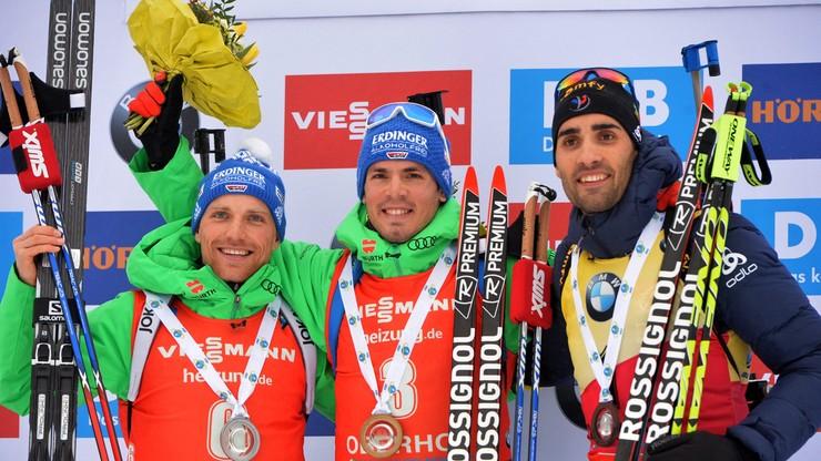PŚ w biathlonie: Niemiecki dublet w Oberhofie