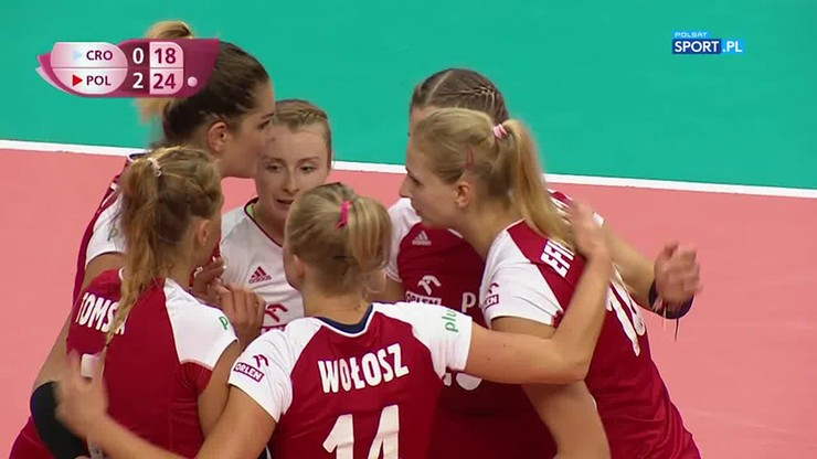 Polska – Chorwacja 3:0. Końcówka meczu