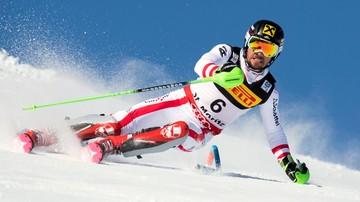2017-02-19 Alpejskie MŚ: Hirscher prowadzi na półmetku slalomu