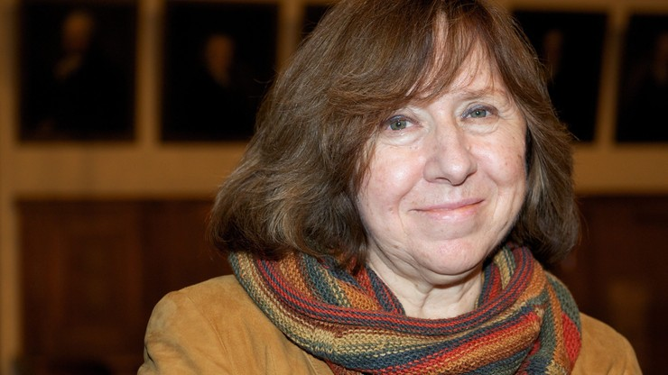 Białoruska pisarka z literackim Noblem