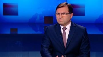 2016-12-04 Próba odwracania uwagi zasługami od problemów.  Girzyński o Piniorze w programie Gość Wydarzeń