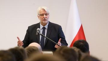 07-02-2017 10:04 Waszczykowski: zapytamy Rosjan, jakie czynności śledcze kazały im zatrzymać wrak