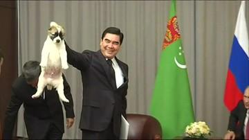 Wabi się Wierny. Putin w prezencie urodzinowym dostał psa