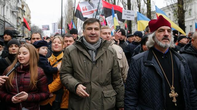 Ukraina: Micheil Saakaszwili zatrzymany w Kijowie