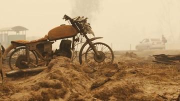 2015-11-27 Powrót do bramki. Golkiper pędzi na motocyklu (WIDEO)