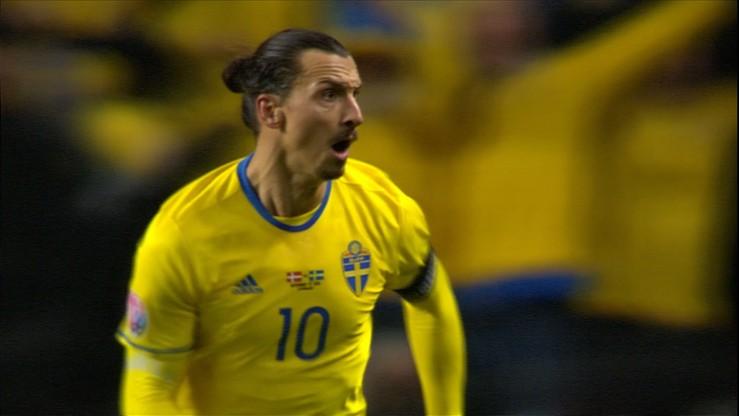 Ibra prowadzi Szwecję na Euro. Dwa gole gwiazdora w Kopenhadze! (WIDEO)