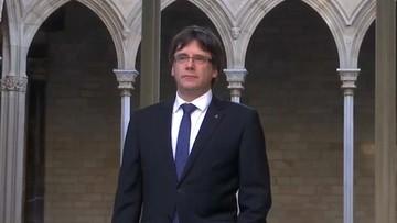"""Szef katalońskiego rządu domaga się mediacji w konflikcie z Madrytem. """"Sens miałaby obserwacja UE"""""""