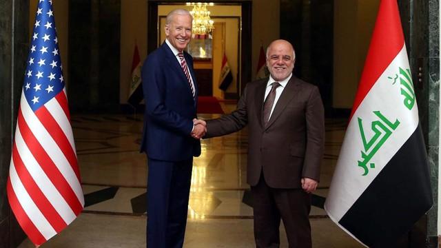 Joe Biden z niespodziewaną wizytą w Iraku. Poparcie dla władz w Bagdadzie