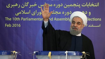 27-02-2016 20:30 Prezydent Iranu: wybory dały rządowi silniejszy mandat