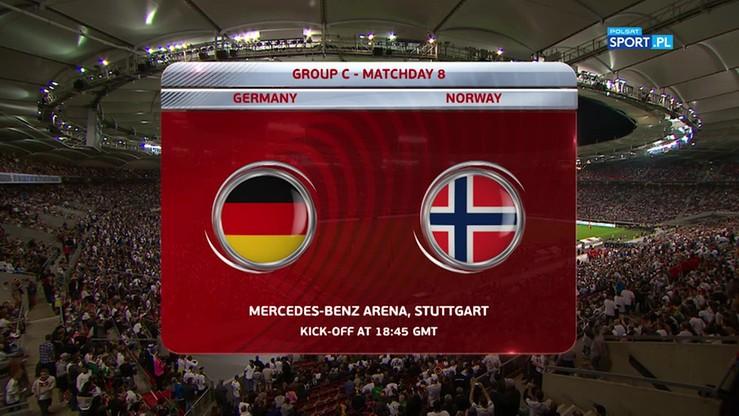 2017-09-04 Niemcy - Norwegia 6:0. Skrót meczu