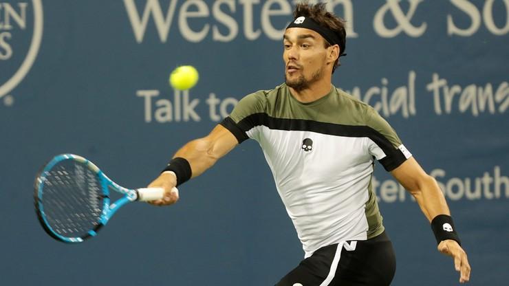 Fognini boi się zakazu występu za wybryk w US Open