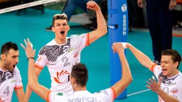 2017-10-15 Aluron Virtu Warta Zawiercie - Jastrzębski Węgiel. Transmisja w Polsacie Sport
