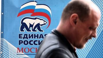 16-09-2016 09:24 Sondaże przed wyborami do Dumy - 30-40 proc. głosów dla Jednej Rosji