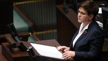 """Nowoczesna składa wniosek do komisji etyki o ukaranie premier Szydło. """"Staje się Polską Marine Le Pen"""""""