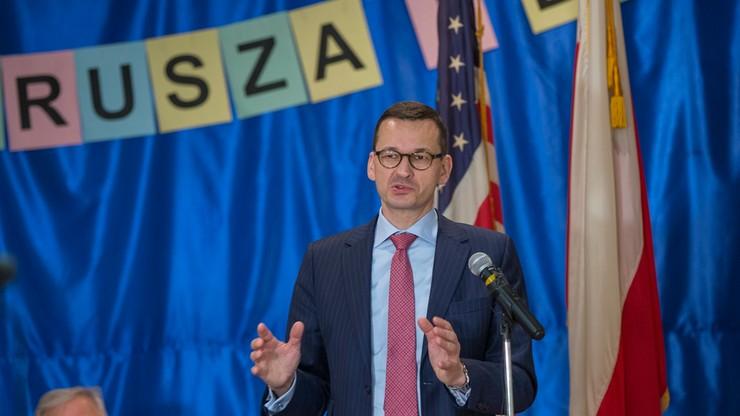 Morawiecki: możliwy wzrost polskiego eksportu do USA nawet powyżej 10 proc.