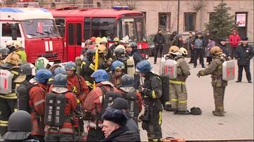 04-04-2017 11:22 Ewakuowano stację metra w Petersburgu. Po informacji o bombie