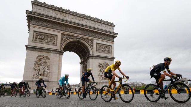 Tour de France. Froome zwycięzcą Wielkiej Pętli