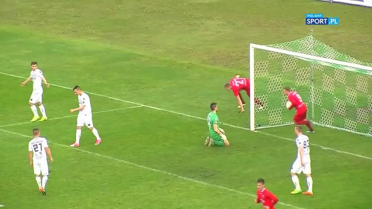 2017-05-01 Zagłębie Sosnowiec - Wisła Puławy 3:1. Skrót meczu