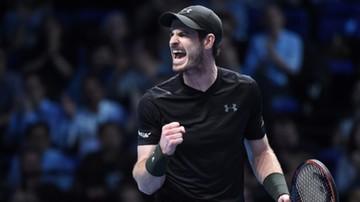 2016-11-14 ATP World Tour Finals: Murray rozpoczął turniej od zwycięstwa