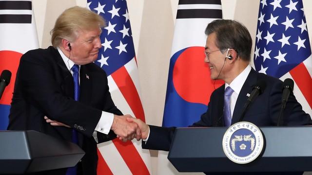 Trump wezwał Chiny i Rosję, by naciskały na Koreę Północną