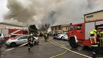 12-12-2017 16:50 Wybuch w stacji przesyłowej gazu ziemnego w Austrii. Jedna osoba nie żyje, kilkanaście jest rannych