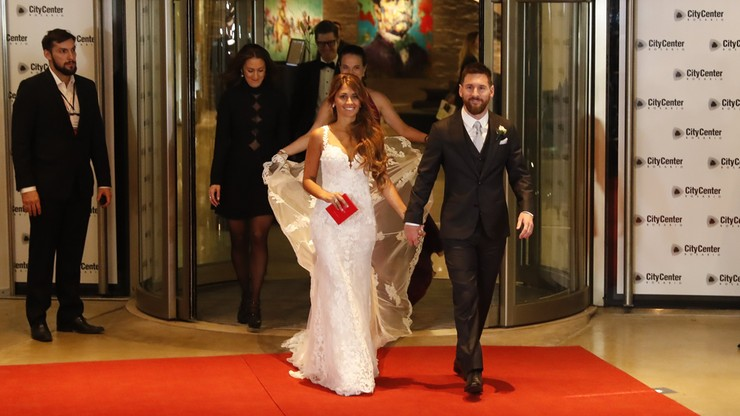 Bajeczne wesele Messiego. Tak się bawiły gwiazdy (WIDEO)