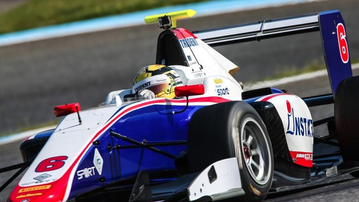 Artur Janosz narzuca tempo podczas testów GP3 w Estoril