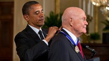 09-12-2016 07:24 Nie żyje John Glenn, były astronauta i polityk