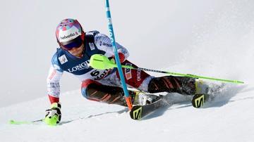 2017-02-13 Alpejskie MŚ: Szwajcar Aerni sensacyjnym zwycięzcą kombinacji