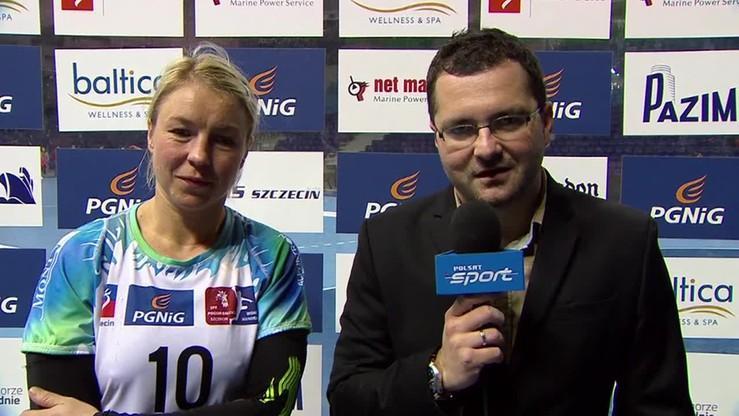 Głowińska: To było spotkanie dwóch równorzędnych zespołów