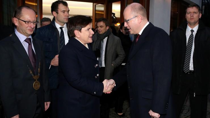 Premierzy Polski i Czech zapowiedzieli współpracę w dziedzinie infrastruktury